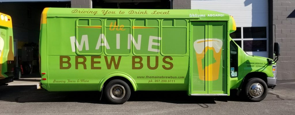 The Maine Brew Bus